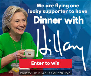 Preview static image for lb-contest-color-dinnerwithhillary-hrcgreenwithmug-etw-300x250-html5