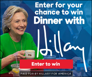 Preview static image for lb-contest-color-shortdinnerwithhillary-hrcgreenwithmug-etw-300x250-html5
