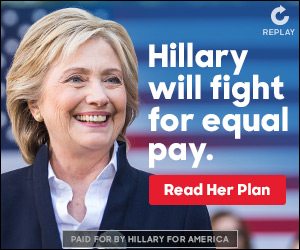 Preview static image for persuasion-iaequalpay-color-hrc-hillarywillfight-rhp-html5-300x250