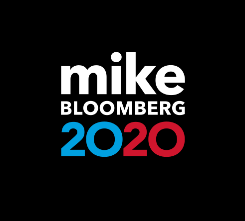 Mike Bloomberg 2020 logo