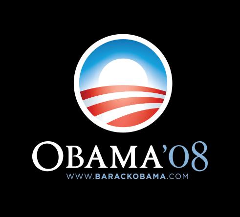 Obama for America 2008 logo